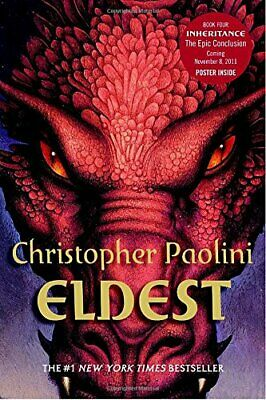 £3.99 • Buy Eldest (Inheritance Cycle) By Paolini, Christopher Book The Cheap Fast Free Post
