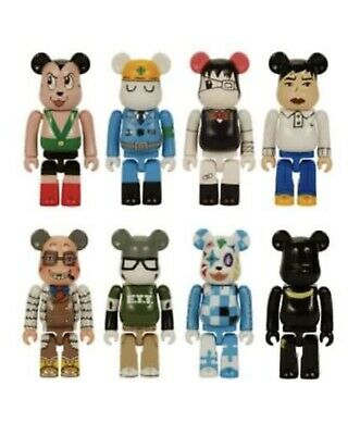 $180 • Buy 2 Medicom Bearbrick 2004 Comic Cue Vol. 101 + 102 Box 8 Be@rbrick NEW