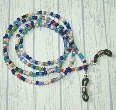 Spectacle/Sun Glasses Chain/Cord Mixed Colour 3mm Beads Jewellery • 3.28£