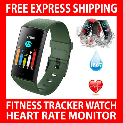 AU47.50 • Buy Cy11 Smart Watch Band Heart Rate Fitbit Charge 3 Style Blood Pressure Monitor