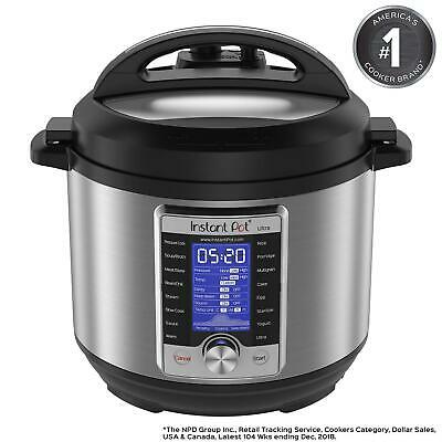$165.02 • Buy Instant Pot Ultra 6 Qt 10in1 Multi Use Programmable Pressure Cooker, Slow