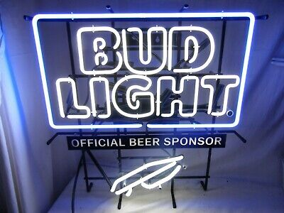 $ CDN159.49 • Buy Bud Light NFL Team Neon Lighted Beer Sign Wall Mount Light Man Cave Bar 26