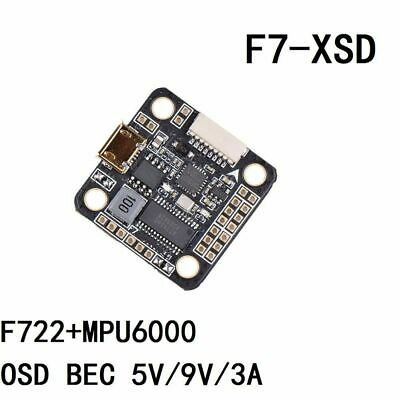 AU30.79 • Buy FEICHAO Betaflight F7-XSD 2-6S Flight Controllers OSD 5V 9V BEC For Multicopter