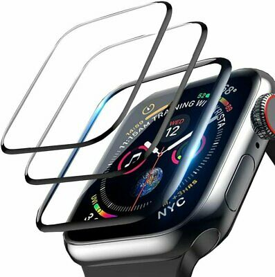 $ CDN6.16 • Buy 3-Pack For Apple Watch 6 5 4 3 2 SE Full Screen Protector IWatch 38/42 40/44mm