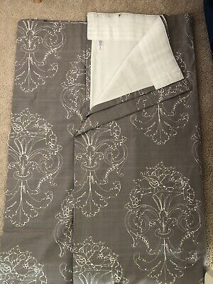"""NEXT Long Lined Curtains 89""""x 81"""" Excellent Condition • 16.99£"""