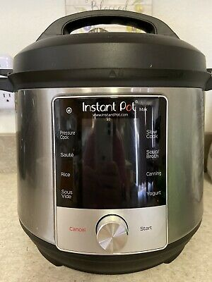 $75.99 • Buy Instant Pot Max Electric Pressure Cooker, Slow Cooker, 6 Quart With Accessories