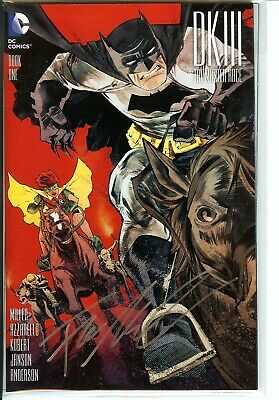 DK III: The Master Race #1 NM+ SIGNED FRANK MILLER Silver Snail Edition DC Comic • 105.24£