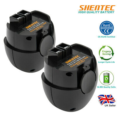 2Pack 3.0AH 4.8V Ni-MH Battery For Metabo Powergrip 2 Powermaxx 6.27270, 6.27271 • 22.95£