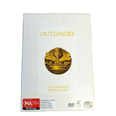 AU25 • Buy Outlander The Complete First Season DVD Parts 1 & 2 16 Episodes