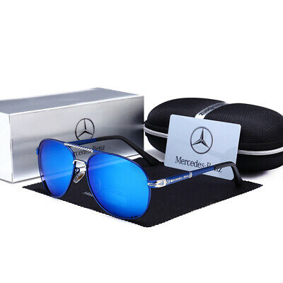 Mercedes AMG Men's UV400 Sunglasses Sports Racing Golf Outdoor Glasses UK • 10.59£