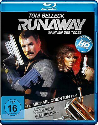 Runaway (1984) * Tom Selleck, Cynthia Rhodes * UK Compatible Blu-Ray New • 13.99£