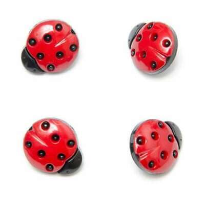 Ladybird Buttons Buttons Black And White Shanks Size 15mm And 21mm  • 2.79£