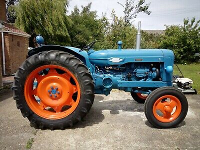 A Power Fordson Major Tractor. In Good Condition. • 3,300£