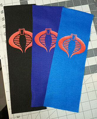 $ CDN12.54 • Buy Custom Gi Joe Cobra Banner 12x4in 3 Variations