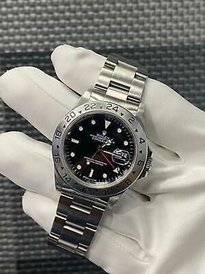 $ CDN7992.65 • Buy Rolex Explorer II 16570 Black Dial U Serial Watch Only Mint Condition