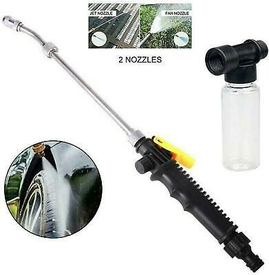 $ CDN21.08 • Buy 2-in-1 High Pressure Washer 2.0 -Water Jet Nozzle Fan Nozzle Safely Clean High