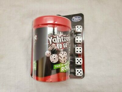 AU12.74 • Buy Yahtzee To Go Hasbro Travel Game 2014 Gaming Board Game
