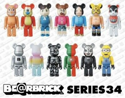 $1600 • Buy Medicom Bearbrick 2017 Series 34 •192 Pcs• 8 Cases In 2 Unopened Carton Box NEW