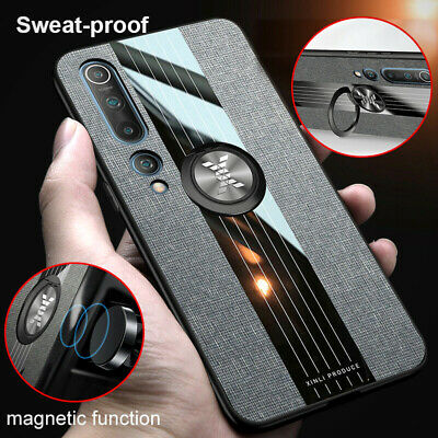 Hybrid Ring Case For Xiaomi Mi 10 9 9T Pro 8 A2 A3 Lite Magnetic Holder Cover • 3.79£