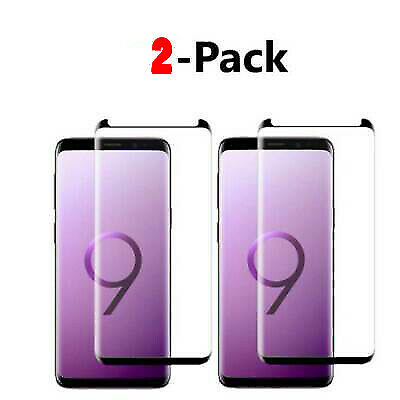 $ CDN4.79 • Buy 2-Pack Screen Protector For Samsung Galaxy S9 S8 Plus Note 8 9 S8 Tempered Glas