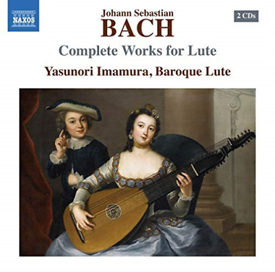 Bach,j.s. / Imamura-complete Works For Lute Cd New • 11.81£