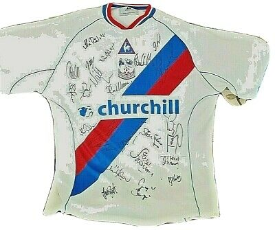 Crystal Palace F.c.official Signed Shirt • 50£