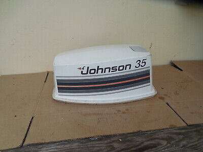 $50 • Buy Johnson Evinrude Hood Cowling Engine Cover 35 HP