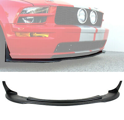 $179.99 • Buy (Black PP) For 05-09 Ford Mustang V8 CV3 Front Bumper Chin Lip Spoiler Splitter