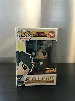 $9.99 • Buy Deku (Battle) Funko Pop Hot Topic Exclusive