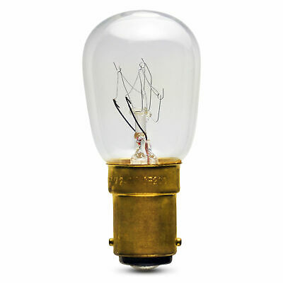 4 X Pygmy 15 Watt SBC B15 Sign Lamp - Fridge Small Bayonet Cap Clear Light Bulb • 4.99£