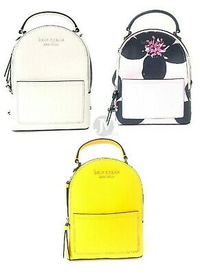 $ CDN151.83 • Buy Kate Spade New York Cameron Leather Mini Convertible Backpack Bag