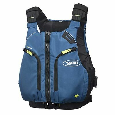 Yak Xipe Watersports Buoyancy Aid Vest M - L Pfd Canoe Kayak Dinghy Fishing Blue • 79.95£