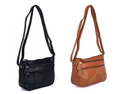 New Women's Stylish Cross Body Bag Ladies Luxury Shoulder Handbag Faux Leather • 8.99£