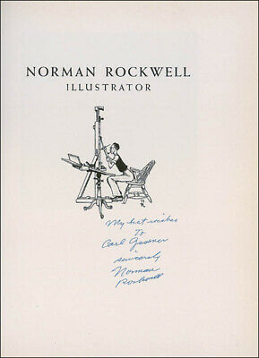 $ CDN626.60 • Buy Norman Rockwell - Inscribed Book Signed