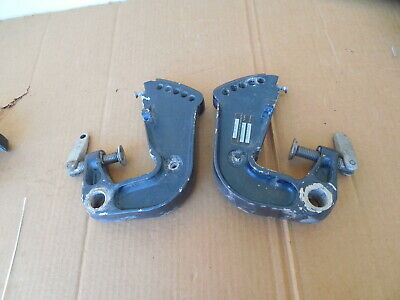$45 • Buy Evinrude Johnson Outboard 25-35 HP  Stern Clamp Brackets