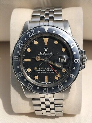 $ CDN20022.91 • Buy Rolex GMT-Master Oyster Perpetual 1675 MK 2 Dial On Period Correct Jubilee Band
