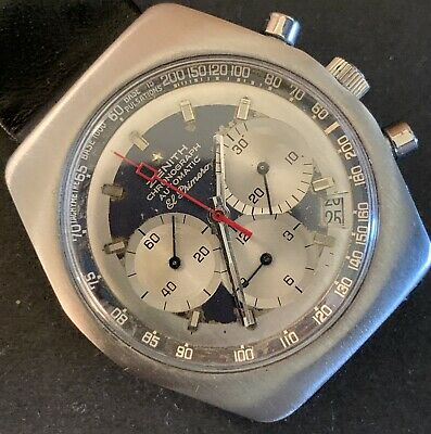 $ CDN8867.51 • Buy Rare Zenith El Primero Sub Sea Chronograph Wealthy Doctors Watch,rolex Daytona.