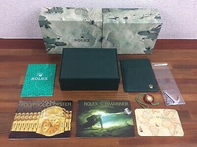$ CDN658.08 • Buy Rolex Submariner 16610 Watch Box Full Set Anchor Tag Link Booklets Etc FREE POST