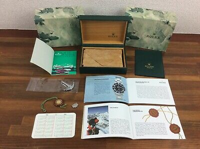 $ CDN798.30 • Buy Rolex Submariner 14060 Watch Box Full Set Anchor Tag Link Booklets Etc FREE POST