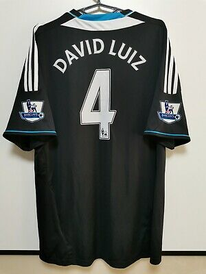 Size Xl Chelsea 2011-2012 Away Football Shirt Jersey David Luiz #4 • 65£
