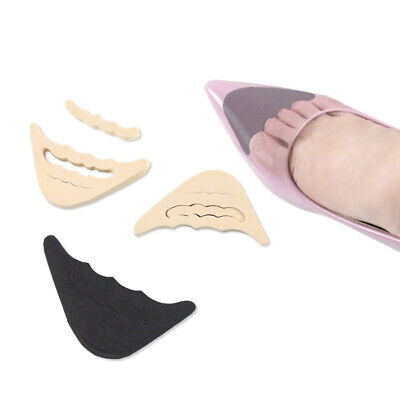 2 Pair Shoes Filler Insole Women Inserts Support To Make Big Shoes Fit Adjust UK • 4.99£