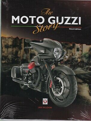 The Moto Guzzi Story - 3rd Edition (Hardcover) Book By Ian Falloon • 20.99£