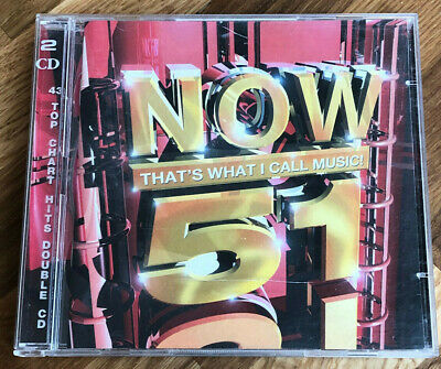 £3 • Buy Now That's What I Call Music 51 Cd - 43 Top Chart Hits