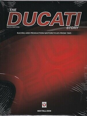 The Ducati Story - 6th Edition (Hardcover) Book By Ian Falloon  • 20.99£