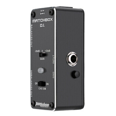 $ CDN41.55 • Buy MATCHBOX D.I. Guitar Signal Directly To Audio System Analogue Effect Pedal B9Y1