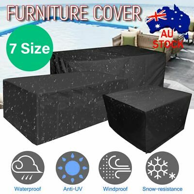 AU22.09 • Buy IN/Outdoor Furniture Cover Garden Patio Rain Snow UV Table Protector Waterproof