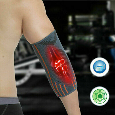 Elbow Support Tennis Golfers Elbow Arthritis Bandage Pain Brace Gym Sport Strap • 4.46£