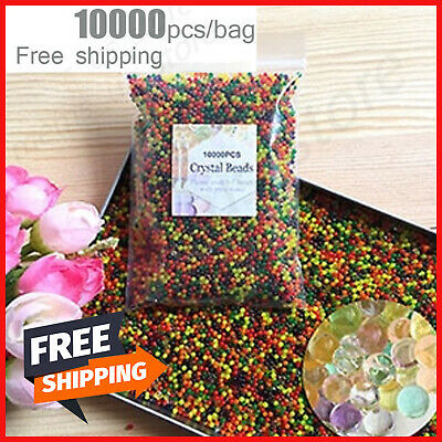 AU12.88 • Buy 10000Pcs Large Jumbo Giant Orbeez Magic Garden Water Beads Big Aqua Balls Decor