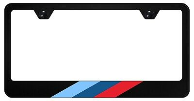 $11.95 • Buy  M-Stripe Black License Plate Frame For Euro BMW, 304 Stainless Steel