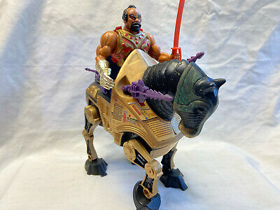 $69.95 • Buy Vtg Jitsu & Night-Stalker He-Man Masters Of The Universe Action Figure Lot
